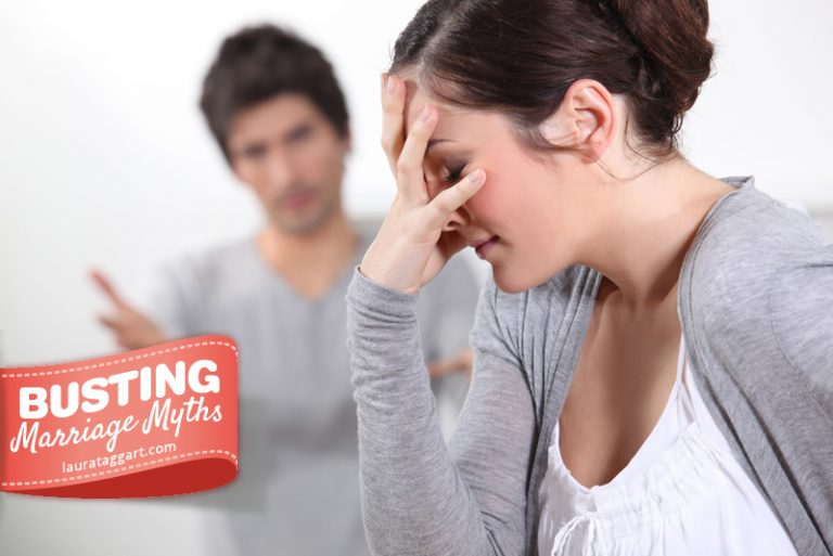 Marriage Myth #4: If we experience a lot of conflict, our marriage is in trouble.