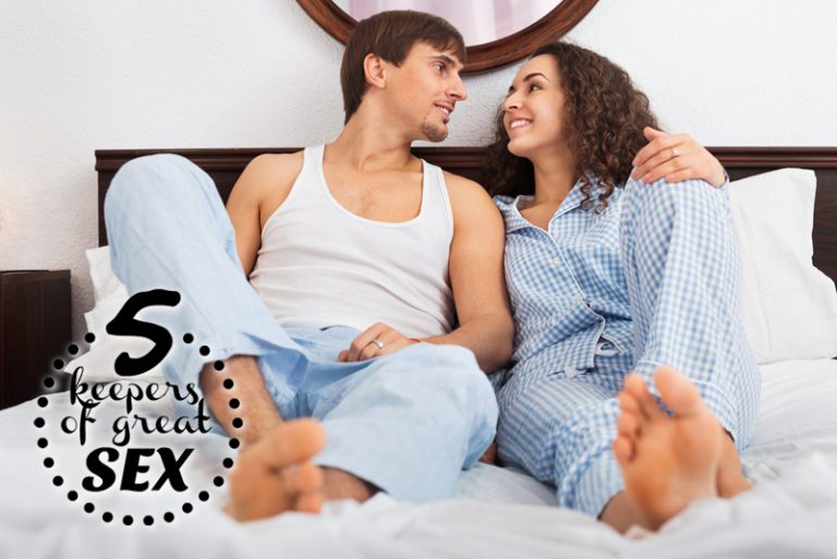 Five Keepers of Great Sex – Keep Communicating